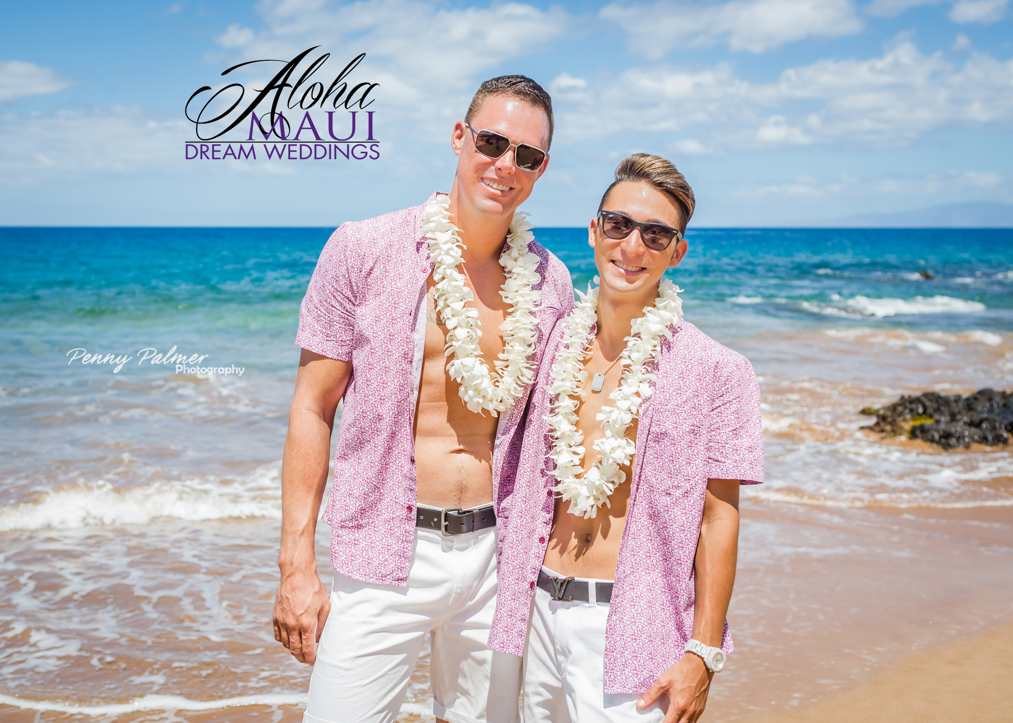 from Emmett maui gay wedding